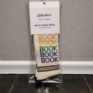Underlined x Out of Print Book Nerd Pride Socks